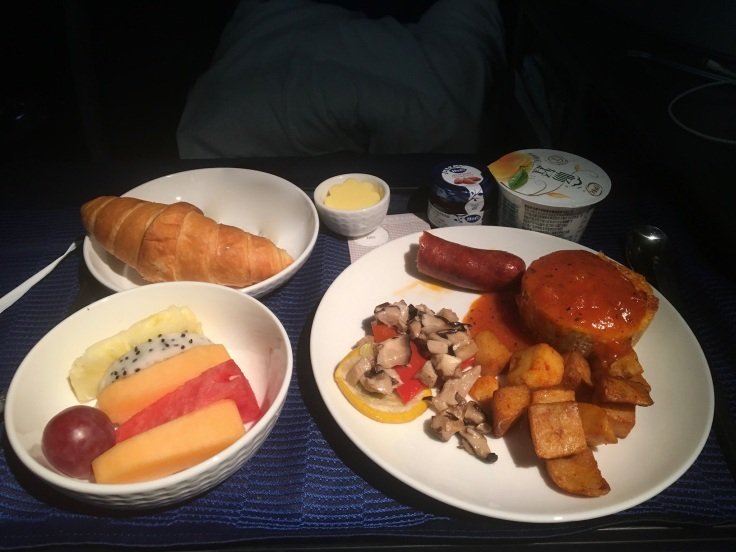 united polaris first soft breakfast