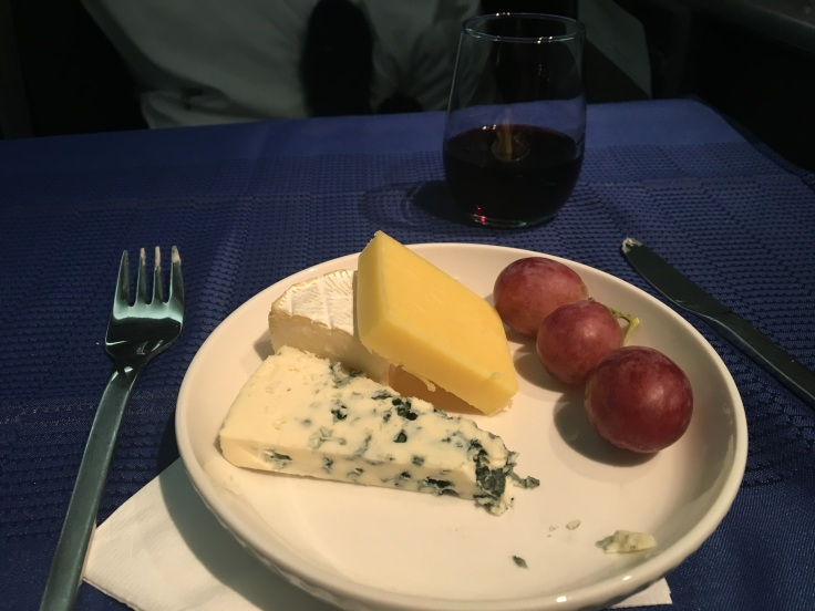 united polaris first soft cheese plate