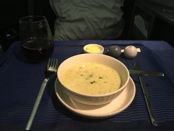 united polaris first soft soup