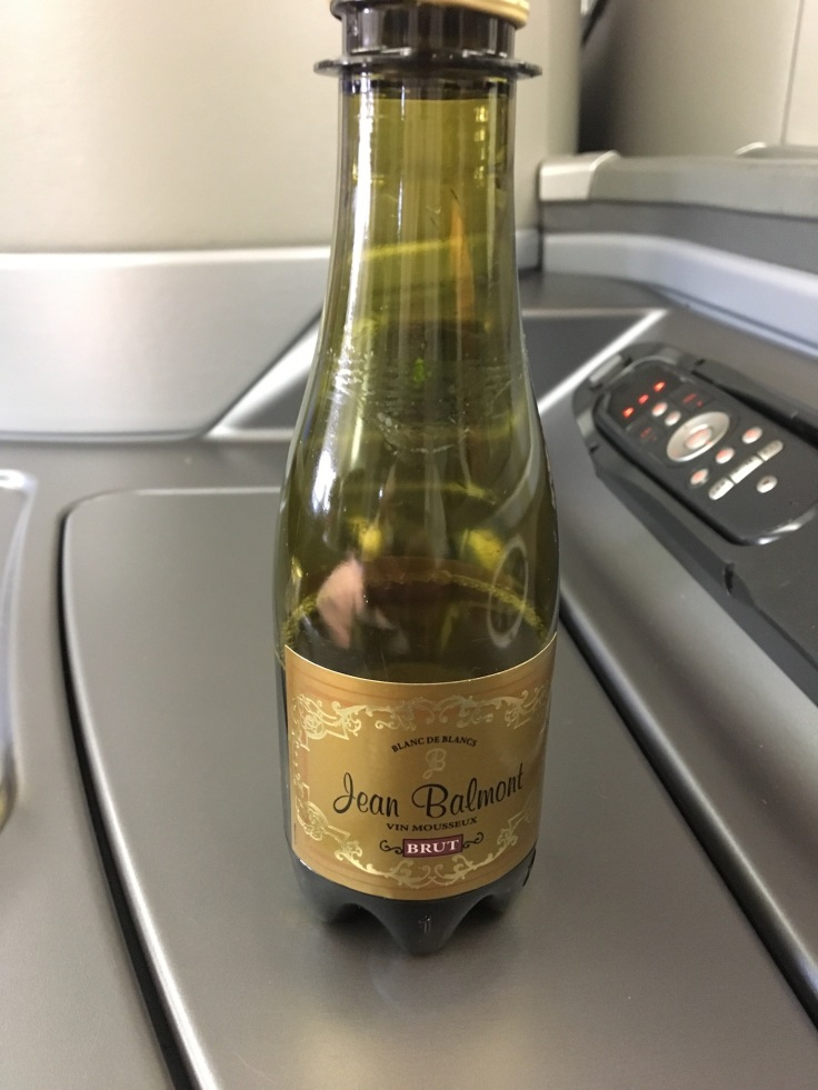 united polaris first soft sparkling wine