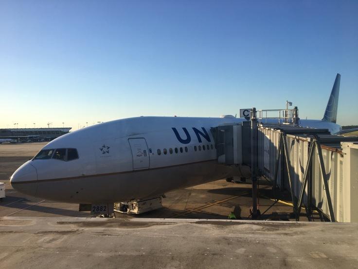 united polaris first the plane