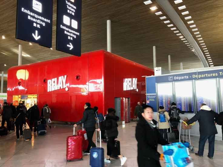 air france business salon cdg check in security 1