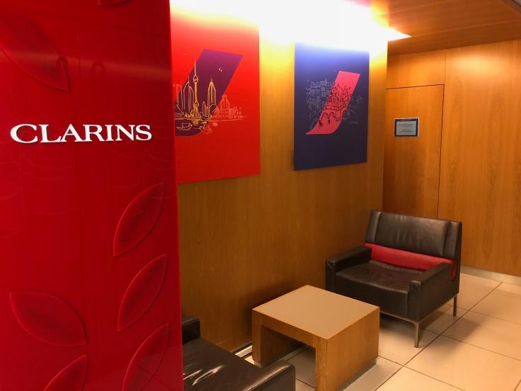 air france business salon cdg spa entrance