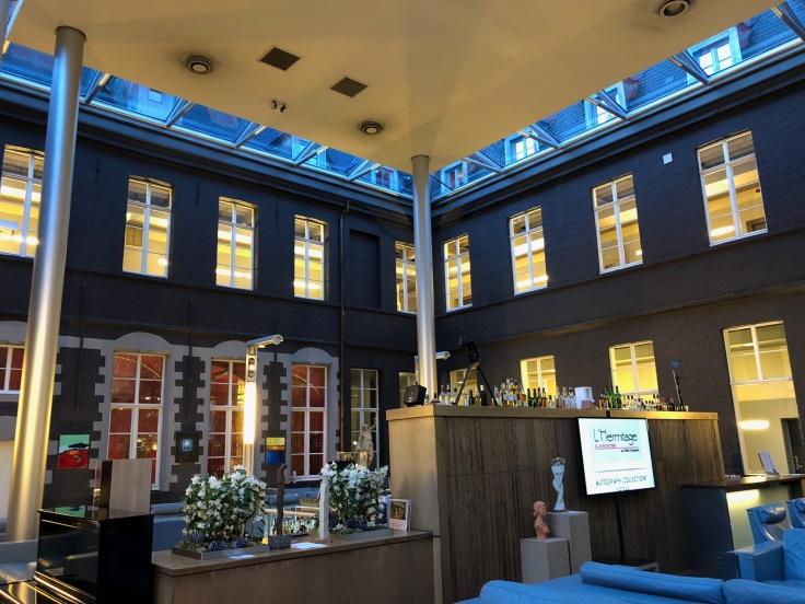 l'hermitage gantois lille public atrium ceiling