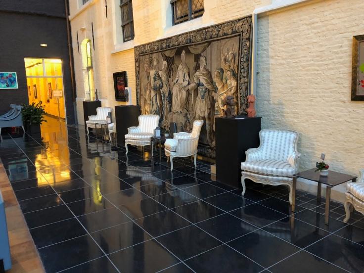 l'hermitage gantois lille public atrium seating area 1