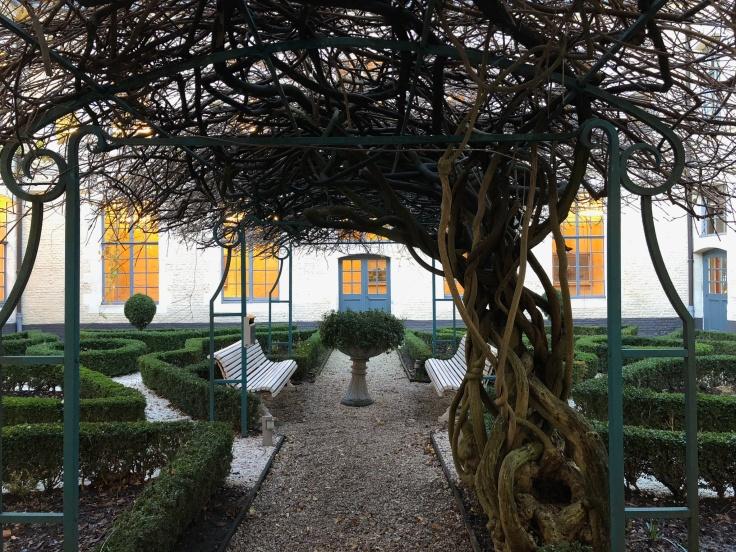 l'hermitage gantois lille public hospital museum courtyard