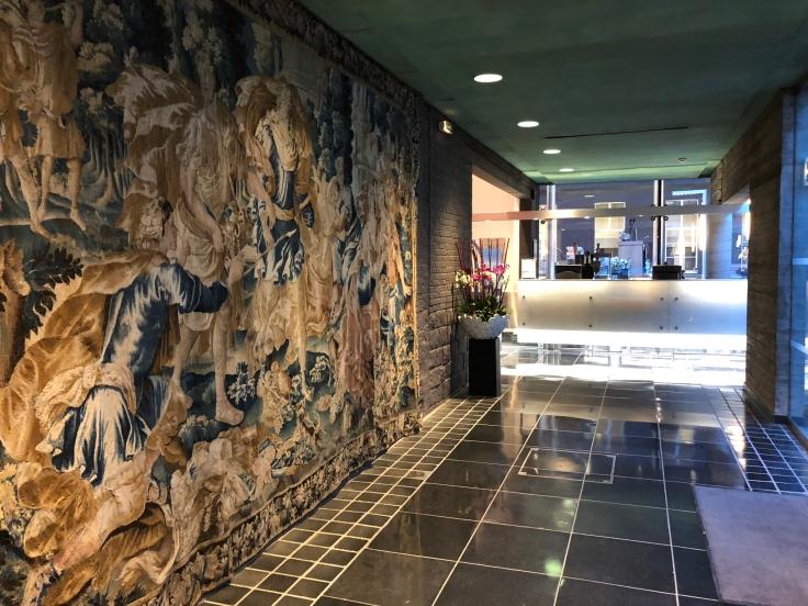 l'hermitage gantois lille public reception tapestry