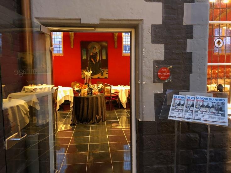 l'hermitage gantois lille public restaurant entrance