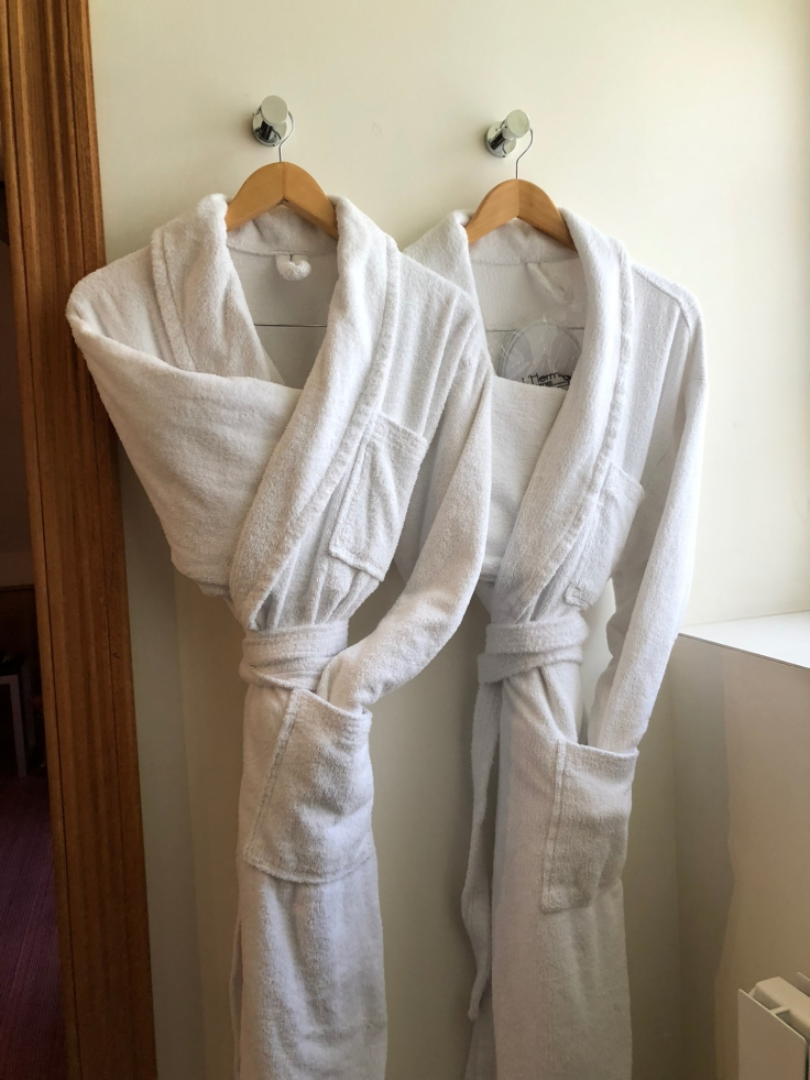 l'hermitage gantois lille room bathroom robes