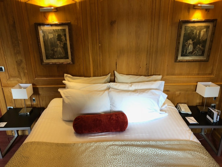 l'hermitage gantois lille room bedroom bed pillows