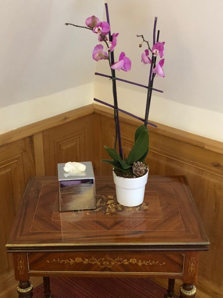 l'hermitage gantois lille room bedroom orchid
