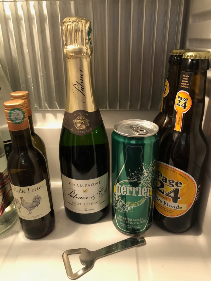 l'hermitage gantois lille room mini fridge beverage selection