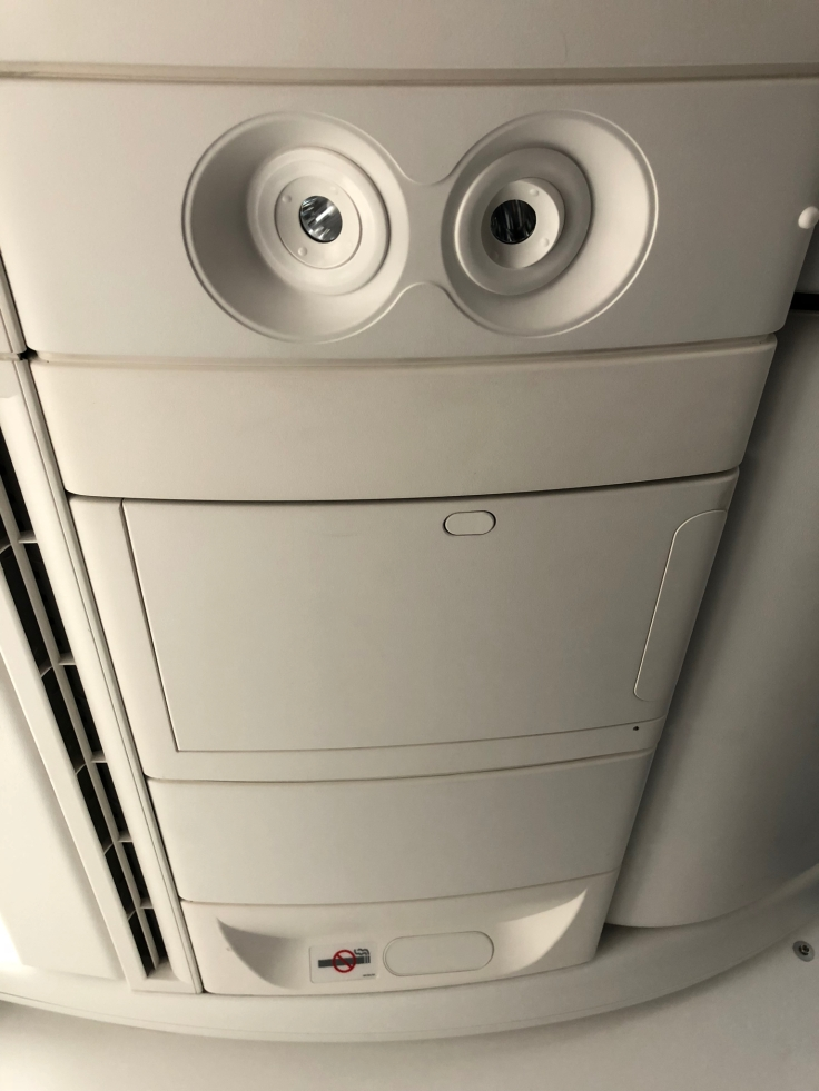 air france business hard ceiling panel