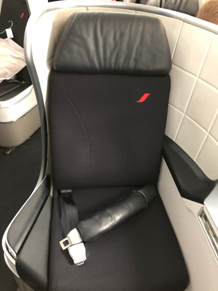 air france business hard seat chair