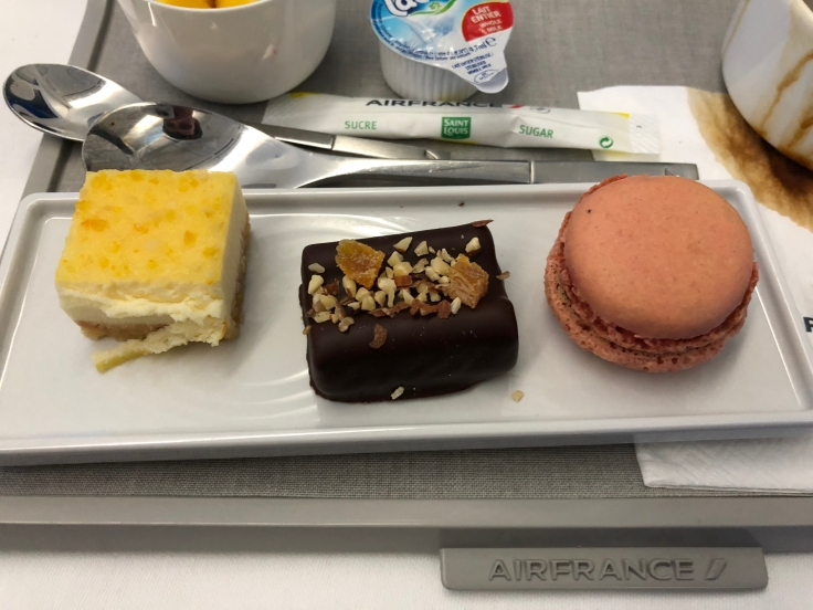 air france business soft dining sweet bites