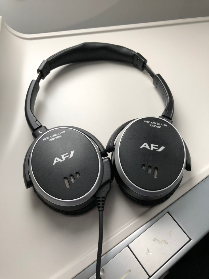 air france business soft headphones