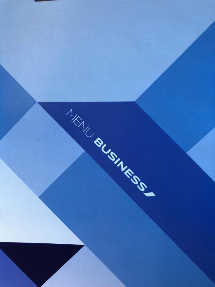 air france business soft menu 0