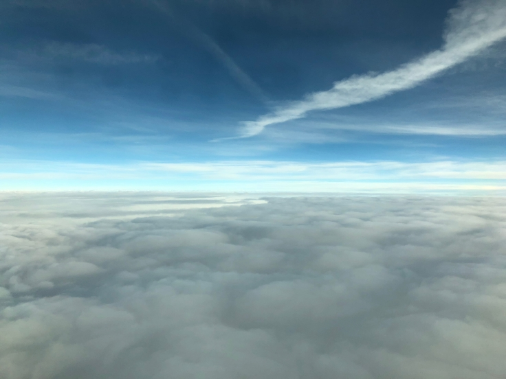 air france business view descent 1