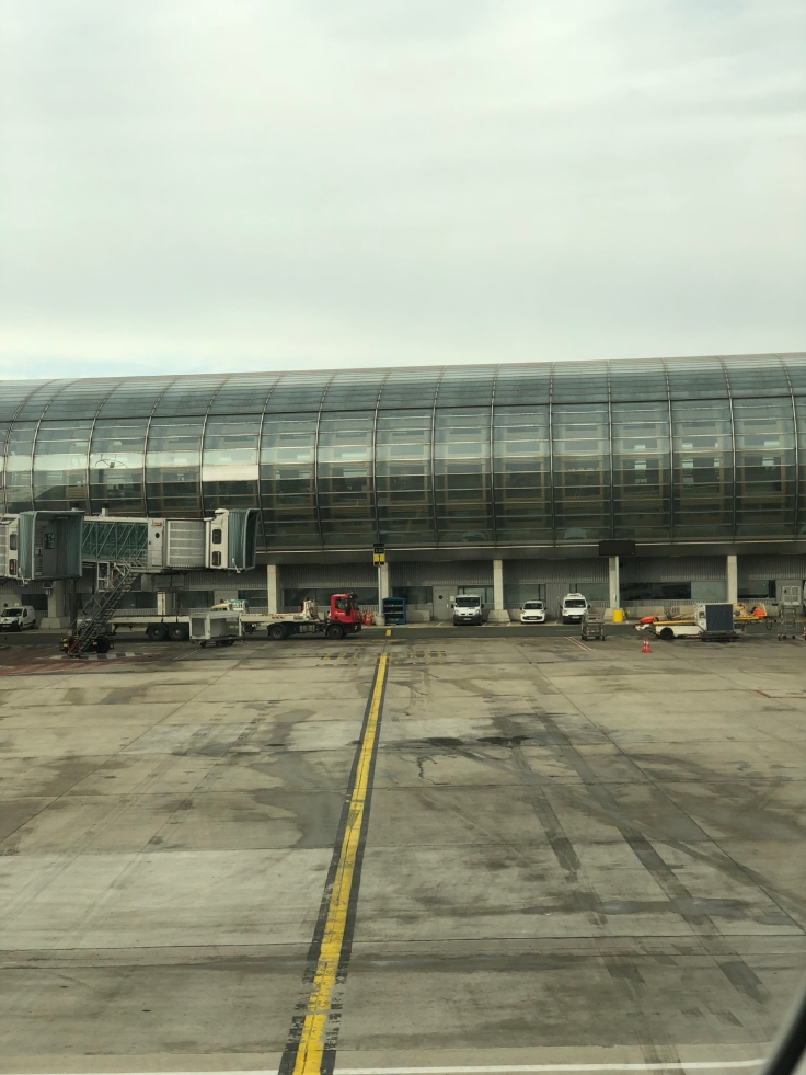 air france business view taxiing 2