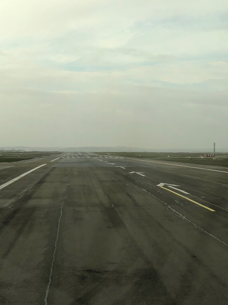 air france business view taxiing 6