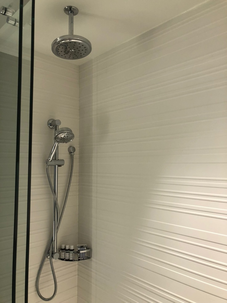 ac hotel new york times square bathroom shower set up