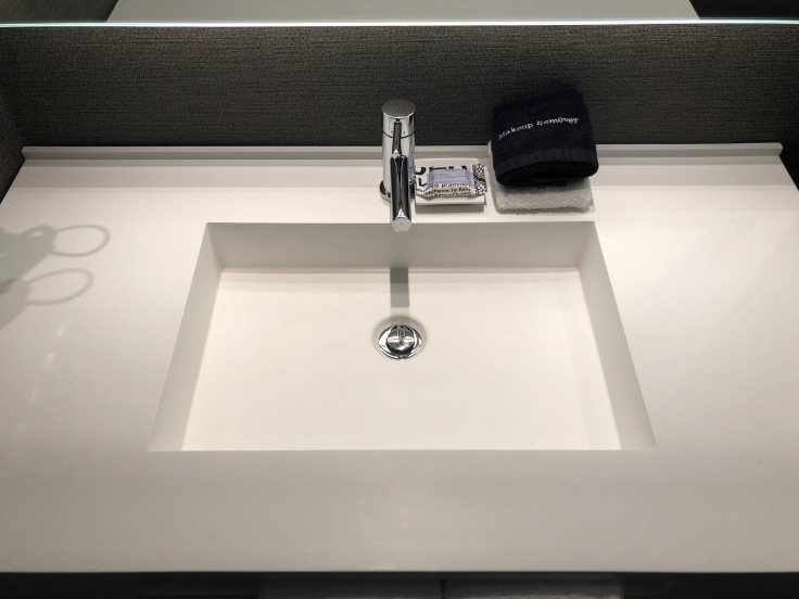 ac hotel new york times square bathroom sink