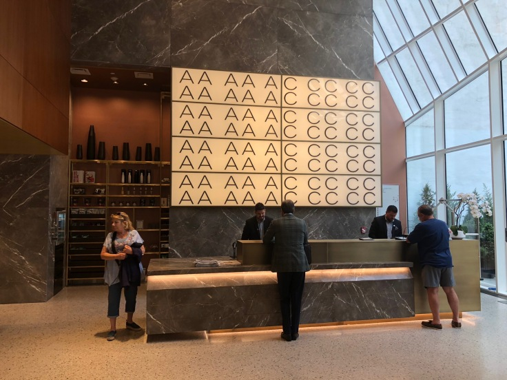 ac hotel new york times square lobby reception desk
