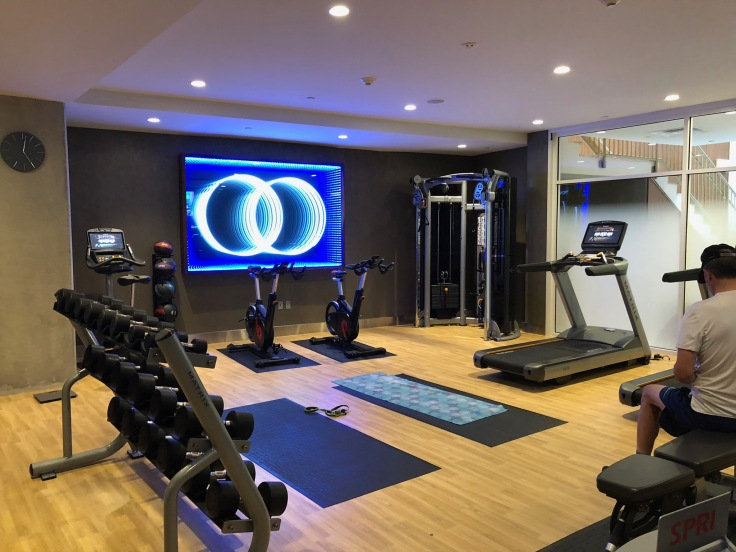 ac hotel new york times square public gym