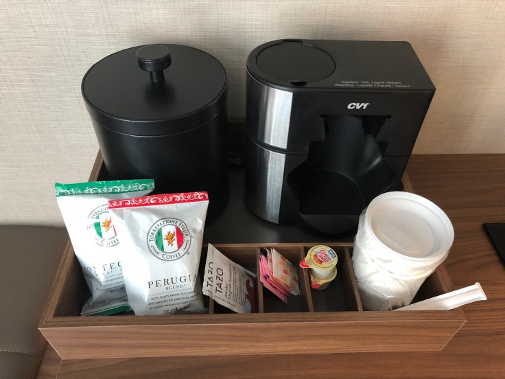 ac hotel new york times square room hot beverage