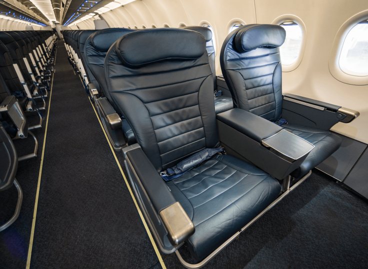 spirit airlines hard big front seat promo image