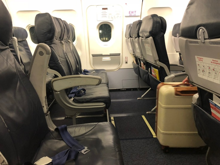 spirit airlines hard exit row seat pitch
