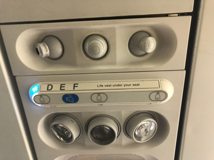 spirit airlines hard overhead panel