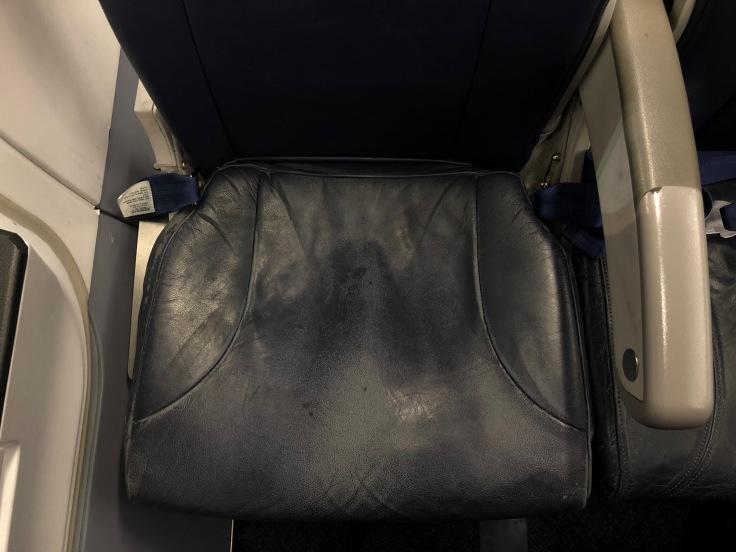 spirit airlines hard seat cushion old