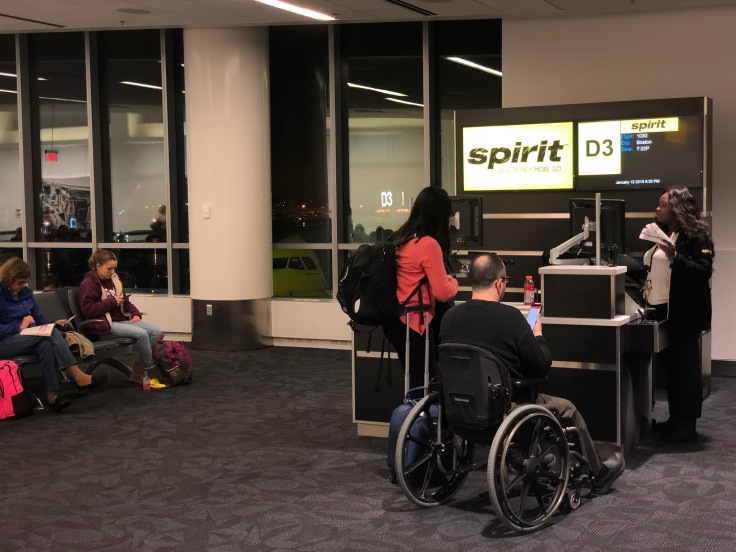 spirit airlines pre boarding