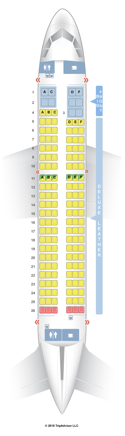 spirit airlines seat map a319