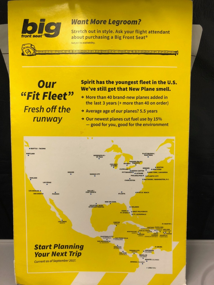 Spirit Airlines Review – The Higher Flyer