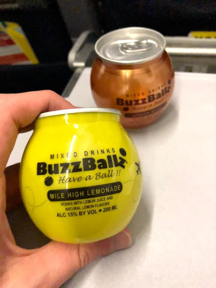 spirit airlines soft buzzballs