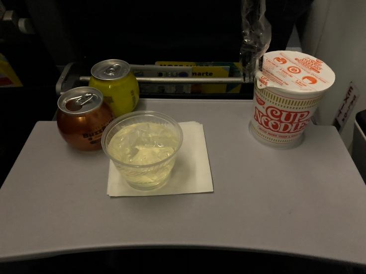 spirit airlines soft dinner