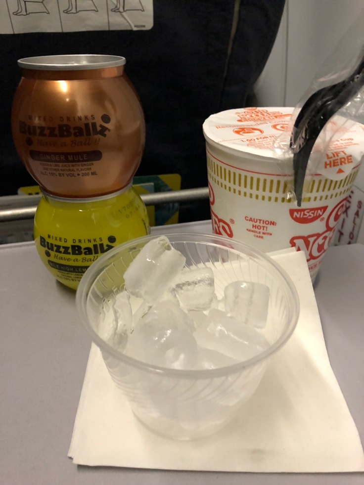 spirit airlines soft on board snack