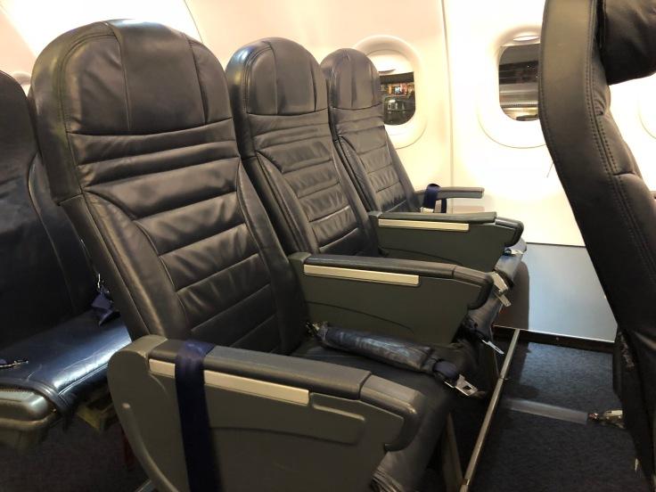 spirit airlines hard standard seat profile