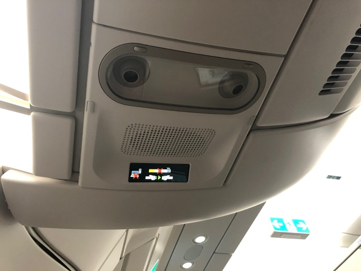 2019 iberia premium economy 02 cabin overhead panel
