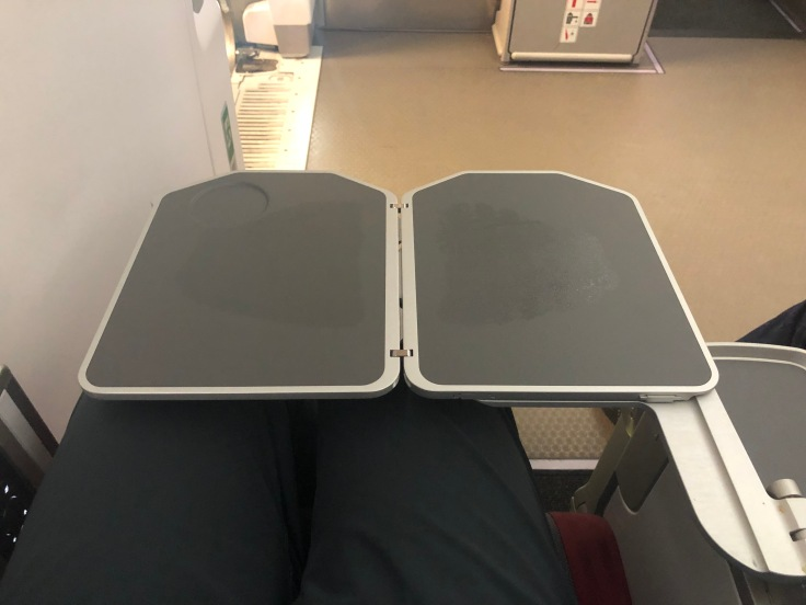 2019 iberia premium economy 03 tray table extended far