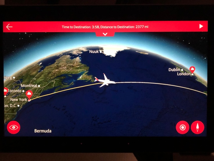 2019 iberia premium economy 04 ife moving map post dinner