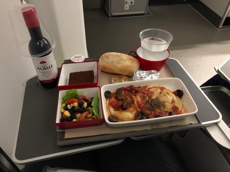 2019 iberia premium economy 06 01 dinner uncovered