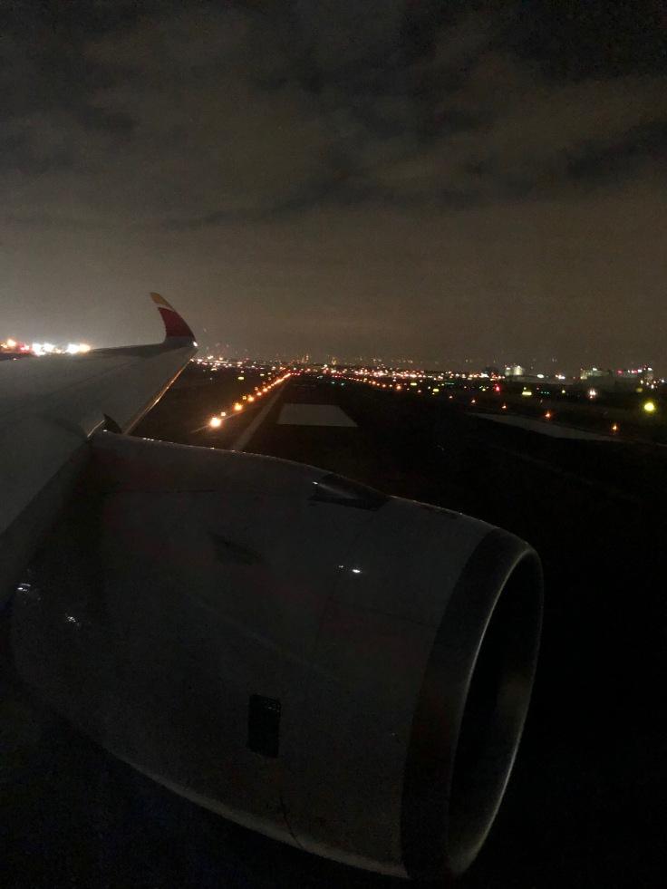 2019 iberia premium economy 08 runway on departure