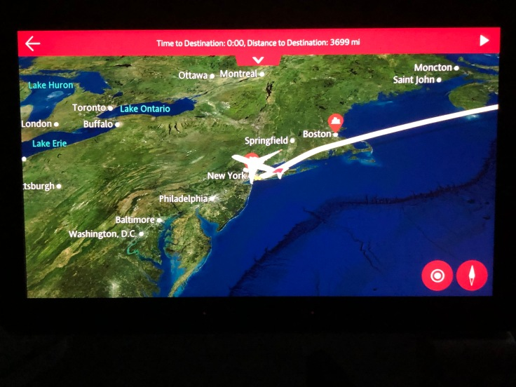 2019 iberia premium economy 04 ife moving map pre dinner