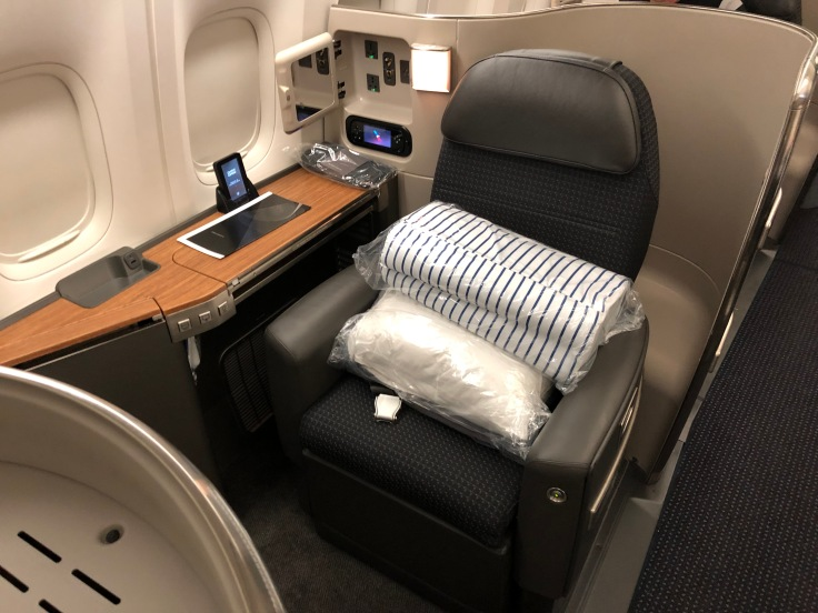 American Airlines First Class General