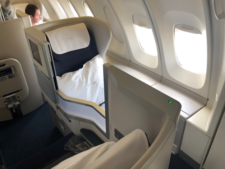 British Airways 747 Club World Window Seat