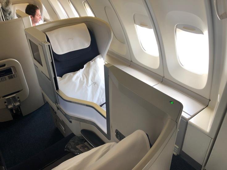 British Airways 747 Club World Window Seat