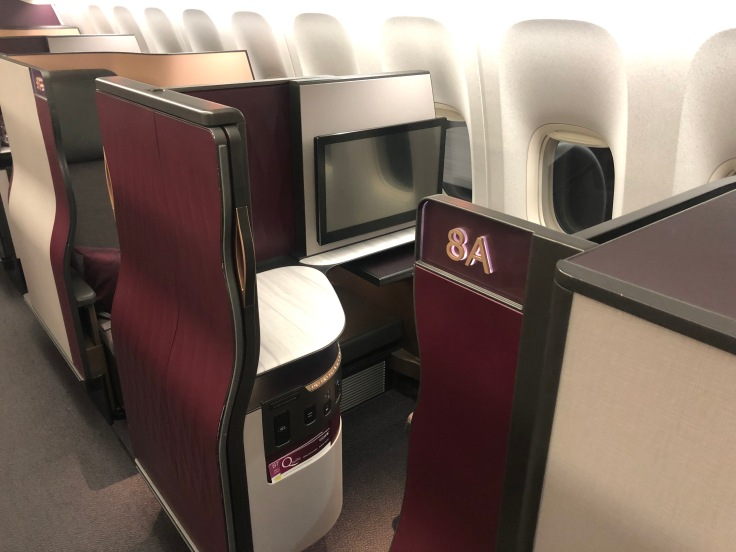 01 Cathay is Overrated Qatar Airways QSuite Exterior